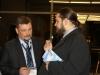 Российские делегаты в кулуарах