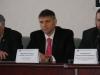 Представитель Президента Украины в Верховной Раде Украины Ю. Р.  Мирошниченко на пресс-конференции